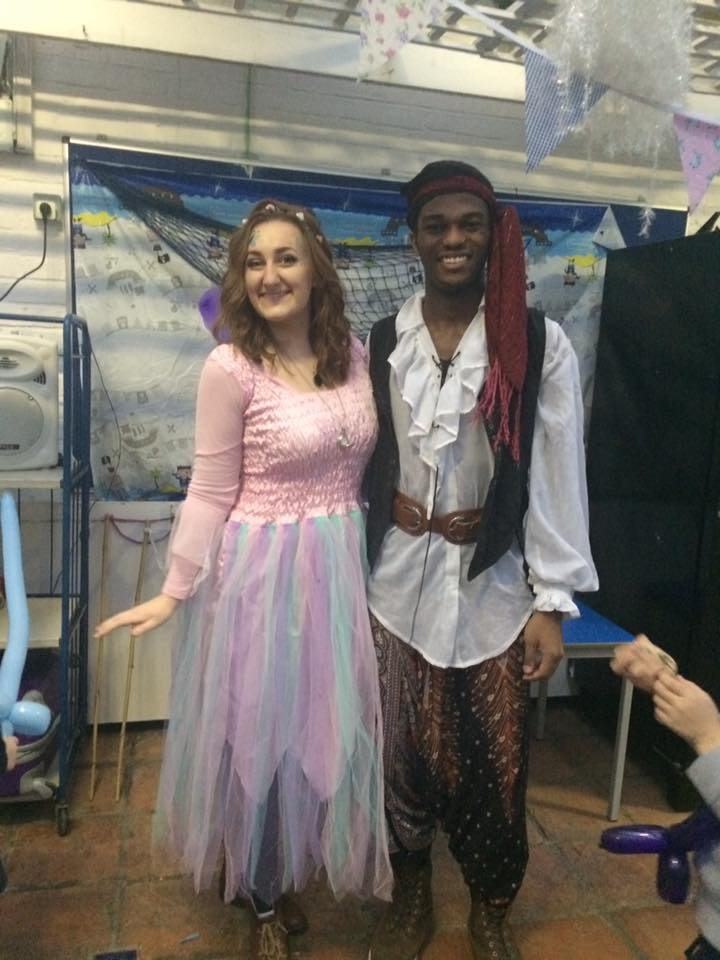 Lovely fairy Isabel and amazing captain Ben