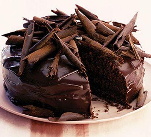 Chocolate, chocolate and more chocolate! -