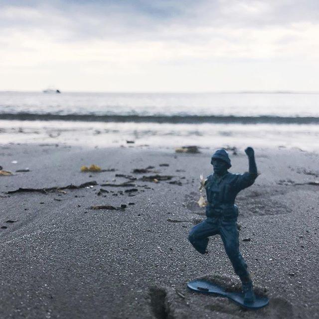 Soldier on. #peakplastic . . . . . #PlanetOrPlastic #plasticpollution #2minutebeachclean #plastigram #lovelywhale #plastics #beatplasticpollution #marinelitter #litterati #plogging #envhist #knowyourworld #ocean🌊 #plastic #justgrabbits #obligation #responsibility #storyofstuff #beachclean #anthropocene #anthropoceneart #plastictoys #toysoldier