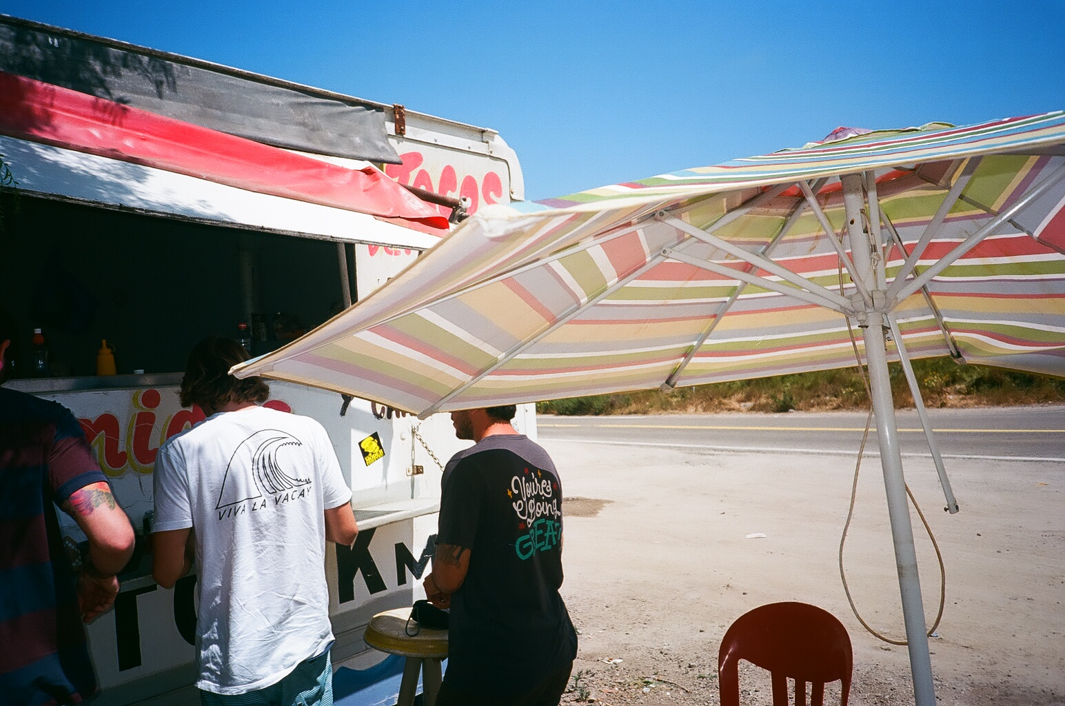 Taco line. Shot by contributing artist Tyler Annalora.