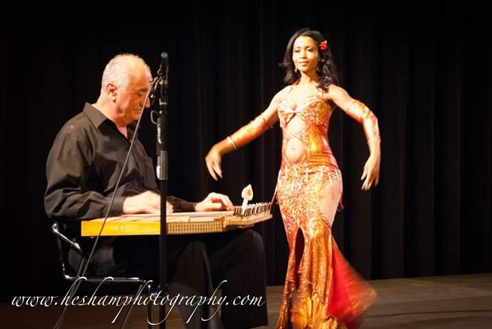 George Sawa and Claudya Khalida