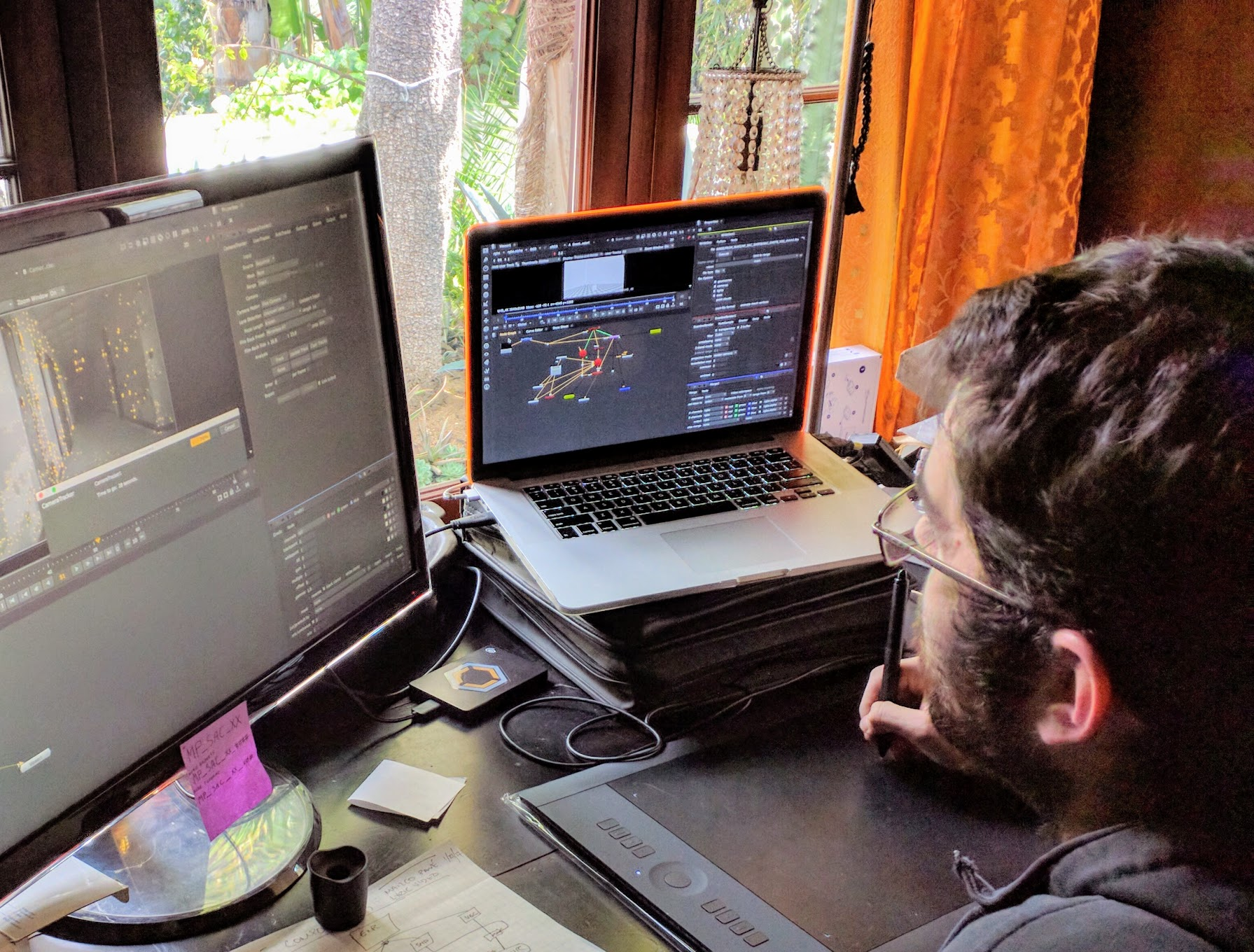 DEM special operative Taylor Smith tracking a 'Sacrifice' teaser trailer shot.