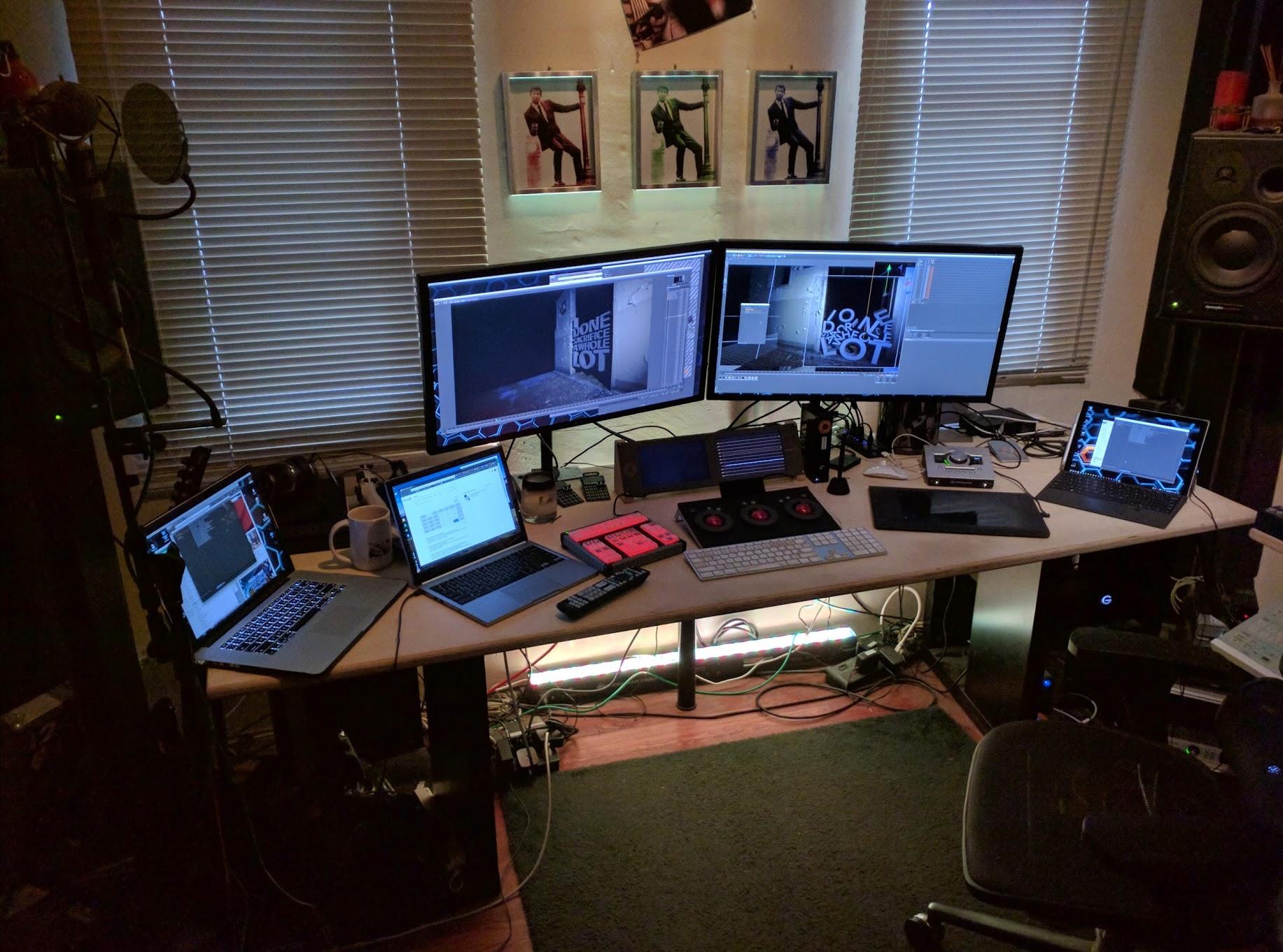 DEM computing platform agnosticism in full effect on the 'Sacrifice' teaser project.