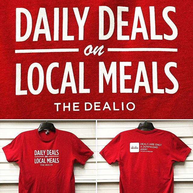 Daily Print :: The Dealio is giving away 5 Next Level Ts to 5 Lucky Winners. @thedealio #Swag #Startup #Merch #NextLevelApparel #SilkScreenPrinting