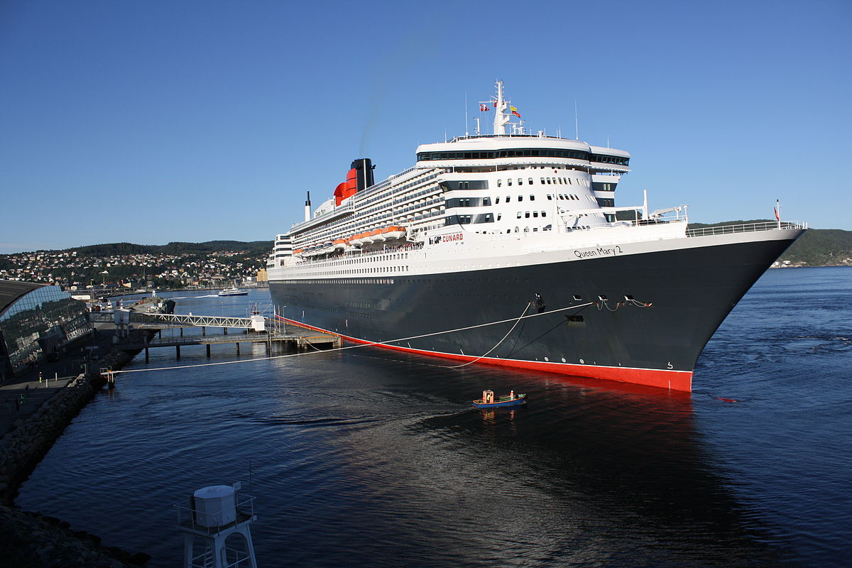 By Trondheim Havn from Trondheim, Norway - Queen Mary 2 Uploaded by beagle84, CC BY-SA 2.0,