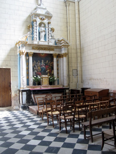 A side chapel at the Church of St. Martin.