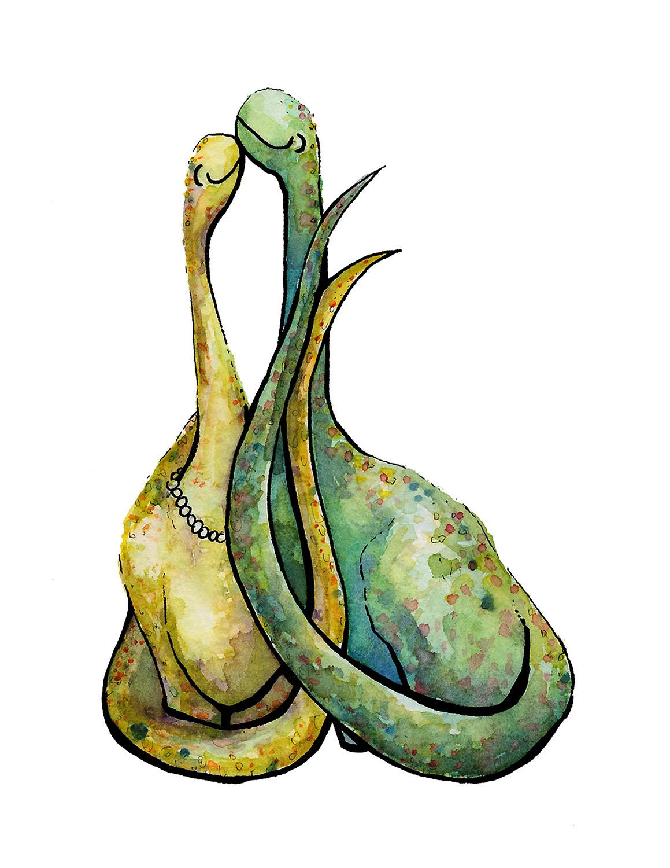Mr. & Mrs. Dino