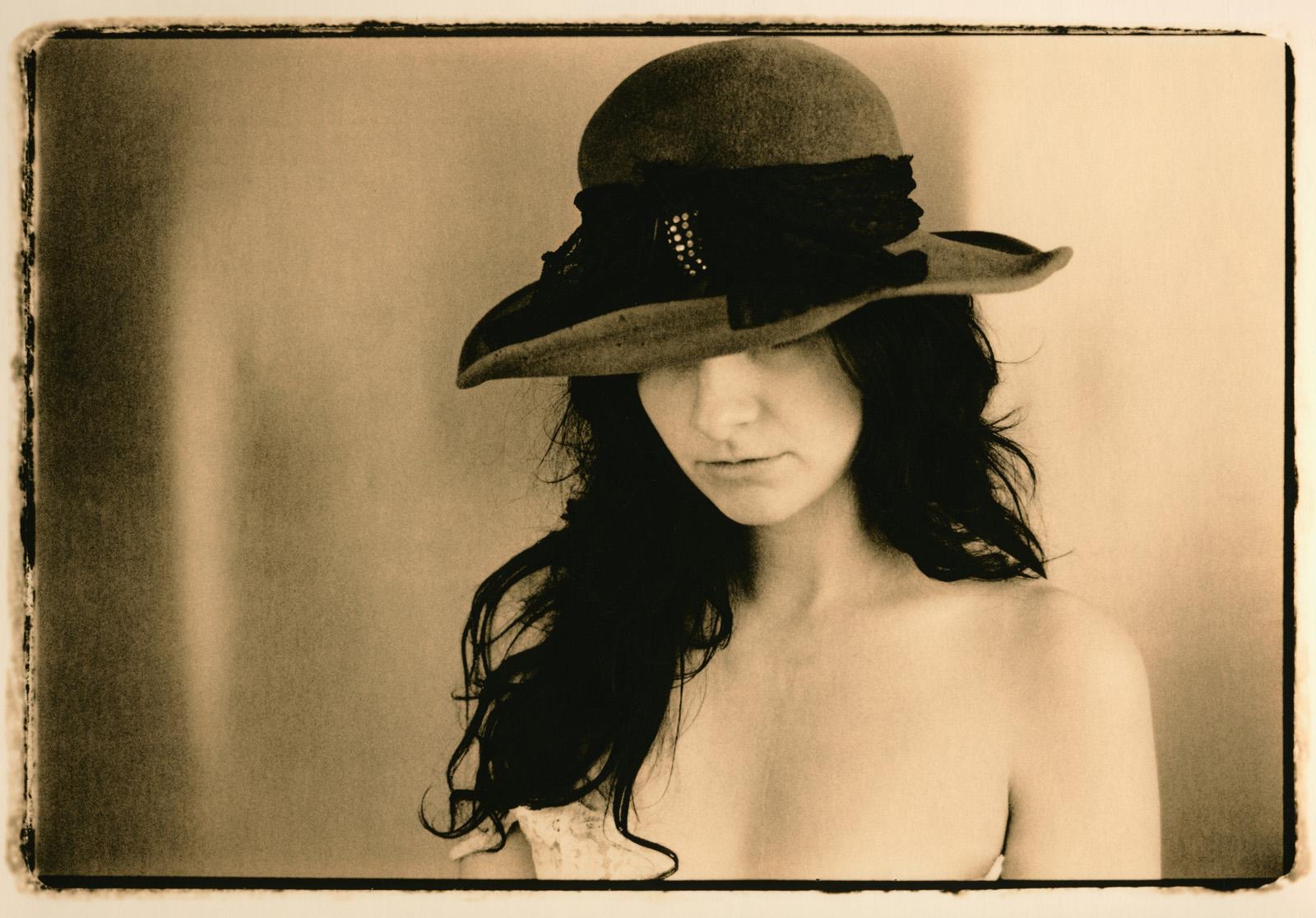 Girl in the Velvet Hat