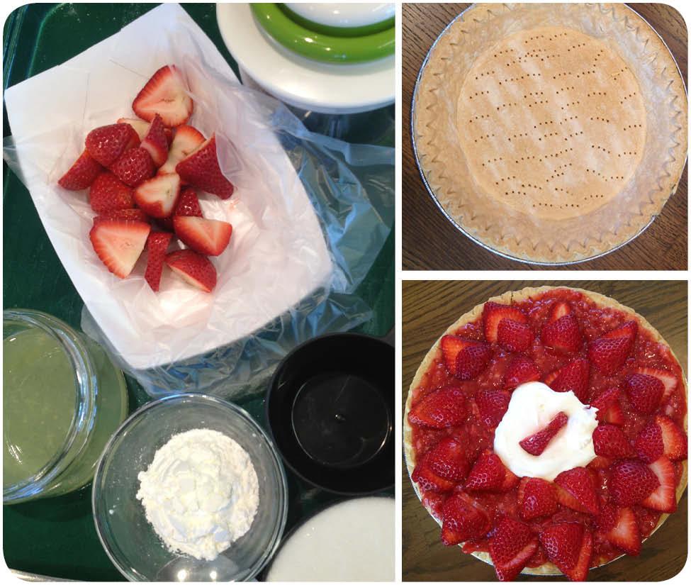 Strawberry Pie Instructions