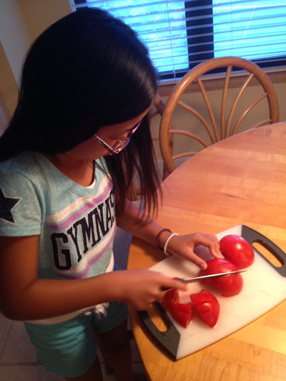 Homegrown Tomatos