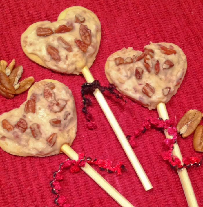 Maple Bacon Lollypops