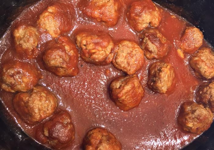 Eckert's Apple Butter Meatballs
