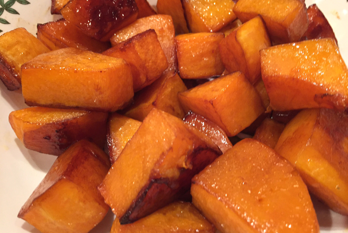 Balsamic Roasted Butternut Squash