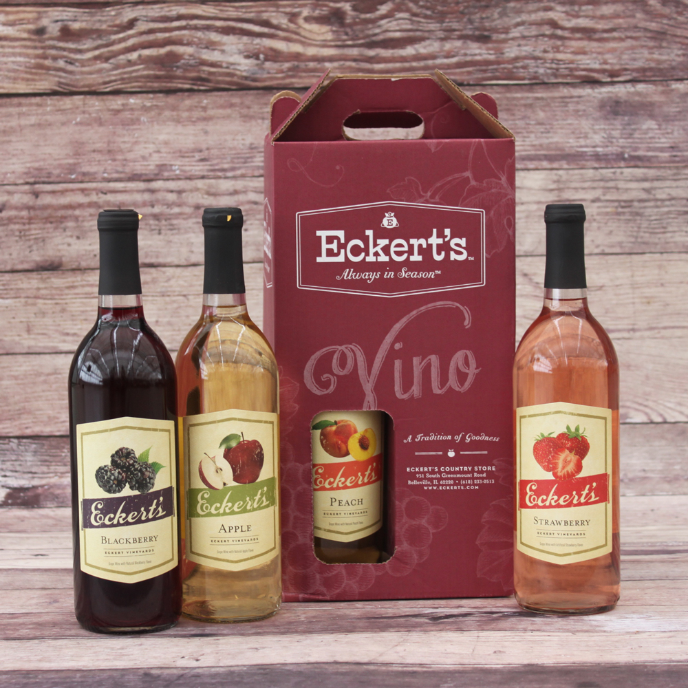 Eckert's Fruit Wine Gift Box