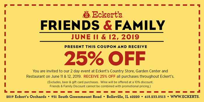 Friends and Family coupon