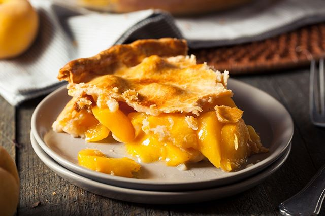 Wondering what to do with all those peaches you recently picked....we've got an idea!