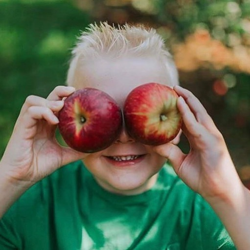 It's the place where memories are made. - - - - - #eckerts #eckertsfarm #eckertfarms #makemorememories #applepicking #pickyourownapples #apples #homwgrown #buylocal #eatfresh