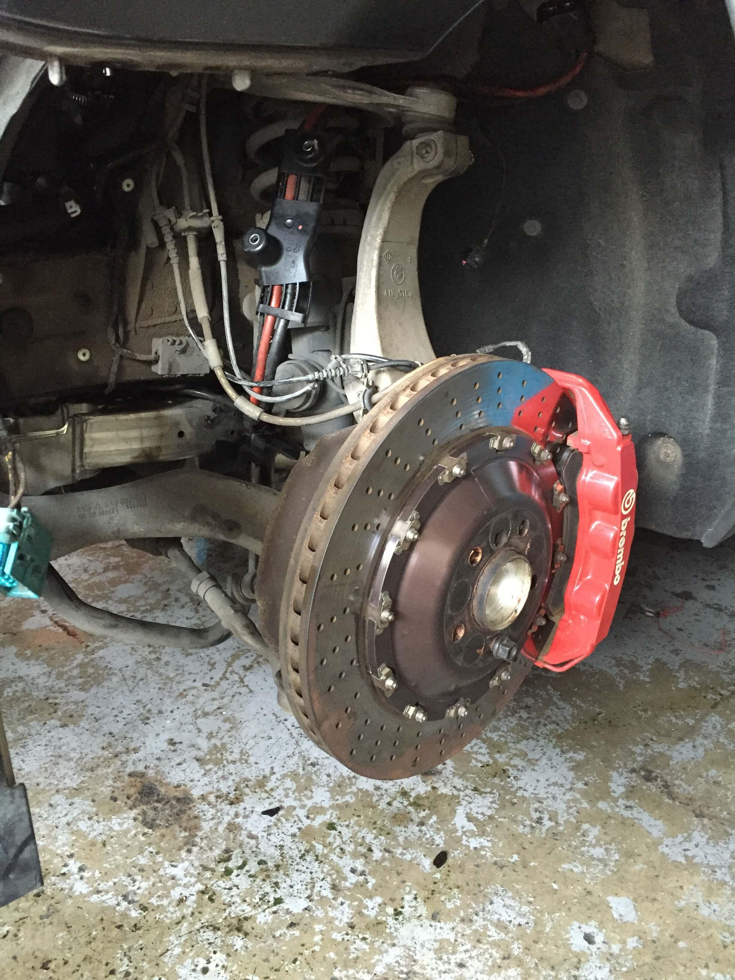 BMW 650i Brake Pad Change