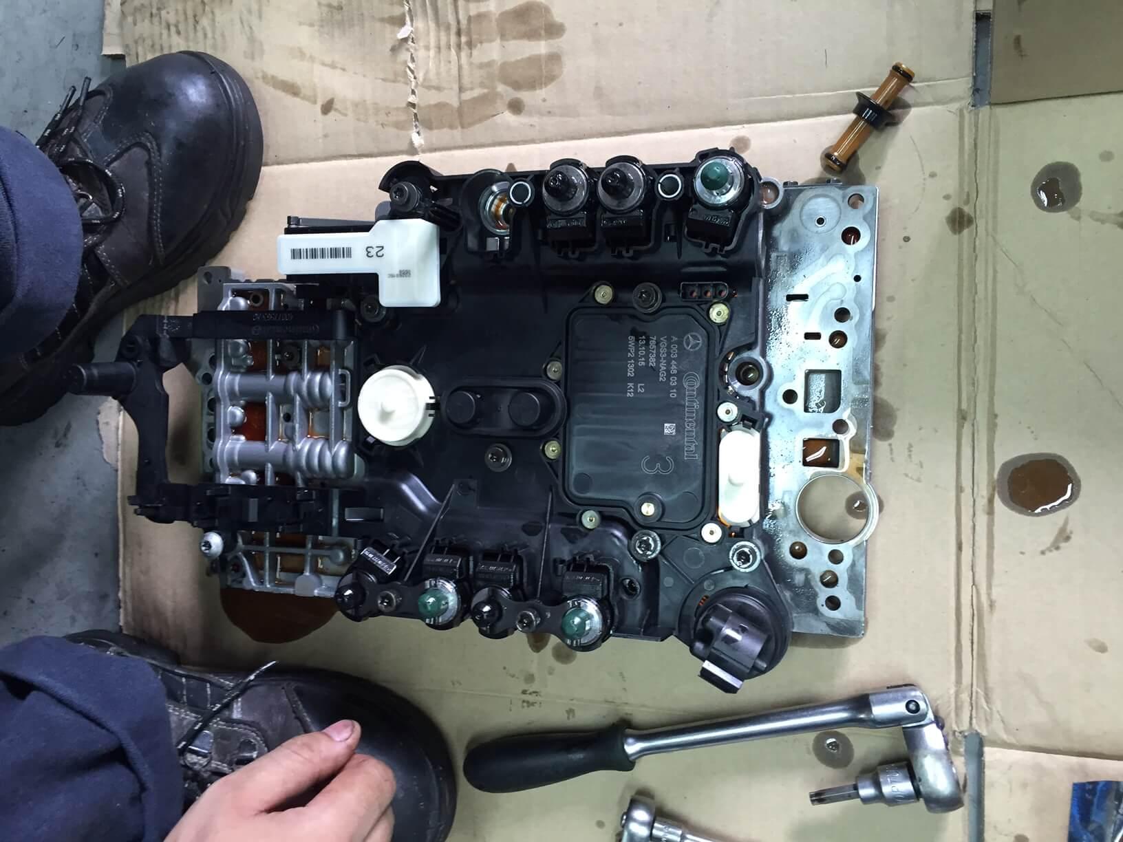 Mercedes Benz CLS350 & E250 Car Repair (Parts Replacement