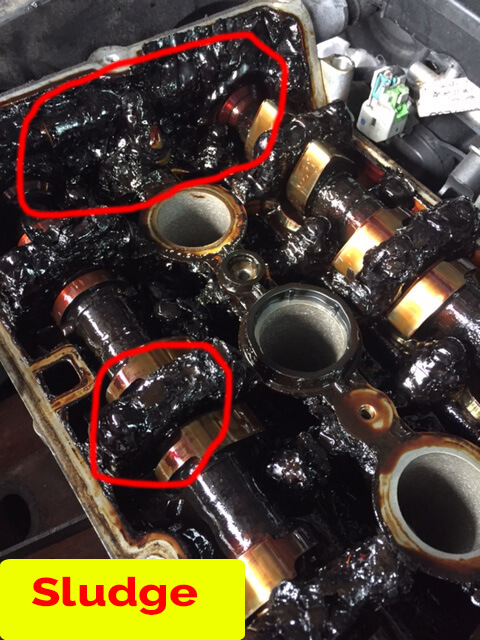Failure to change engine oil