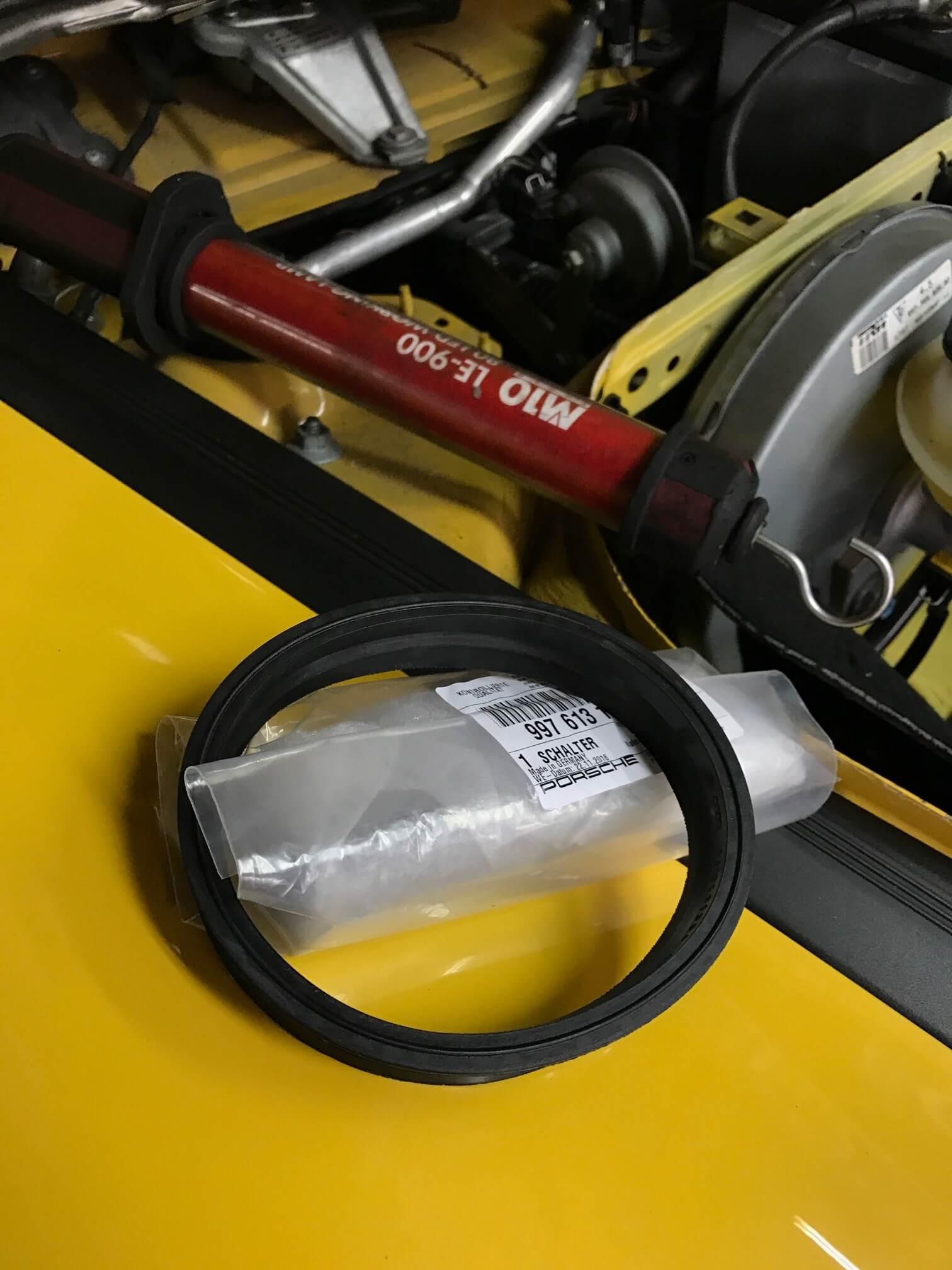 Porsche Cayman Fuel Tank Seal Repair