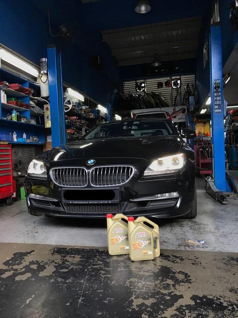 BMW 640i Car Servicing