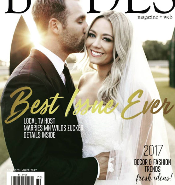 Central Minnesota Brides, Spring Summer 2017 Cover