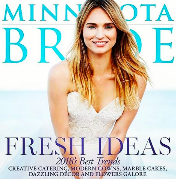 Minnesota Bride ~ Spring 2018 Cover