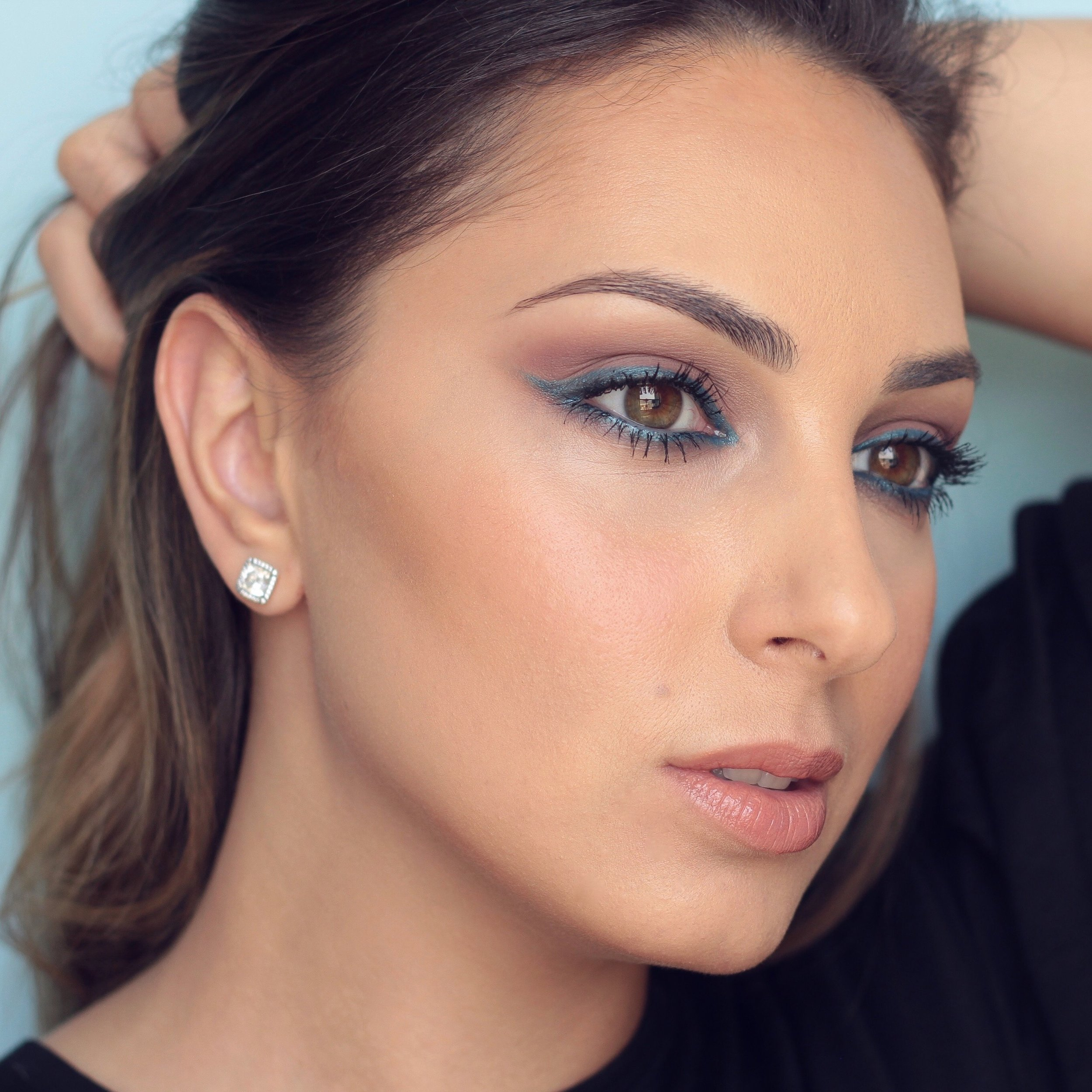 I filmed a tutorial for this look and the video is coming soon to my blog. Wearing the mascara here.