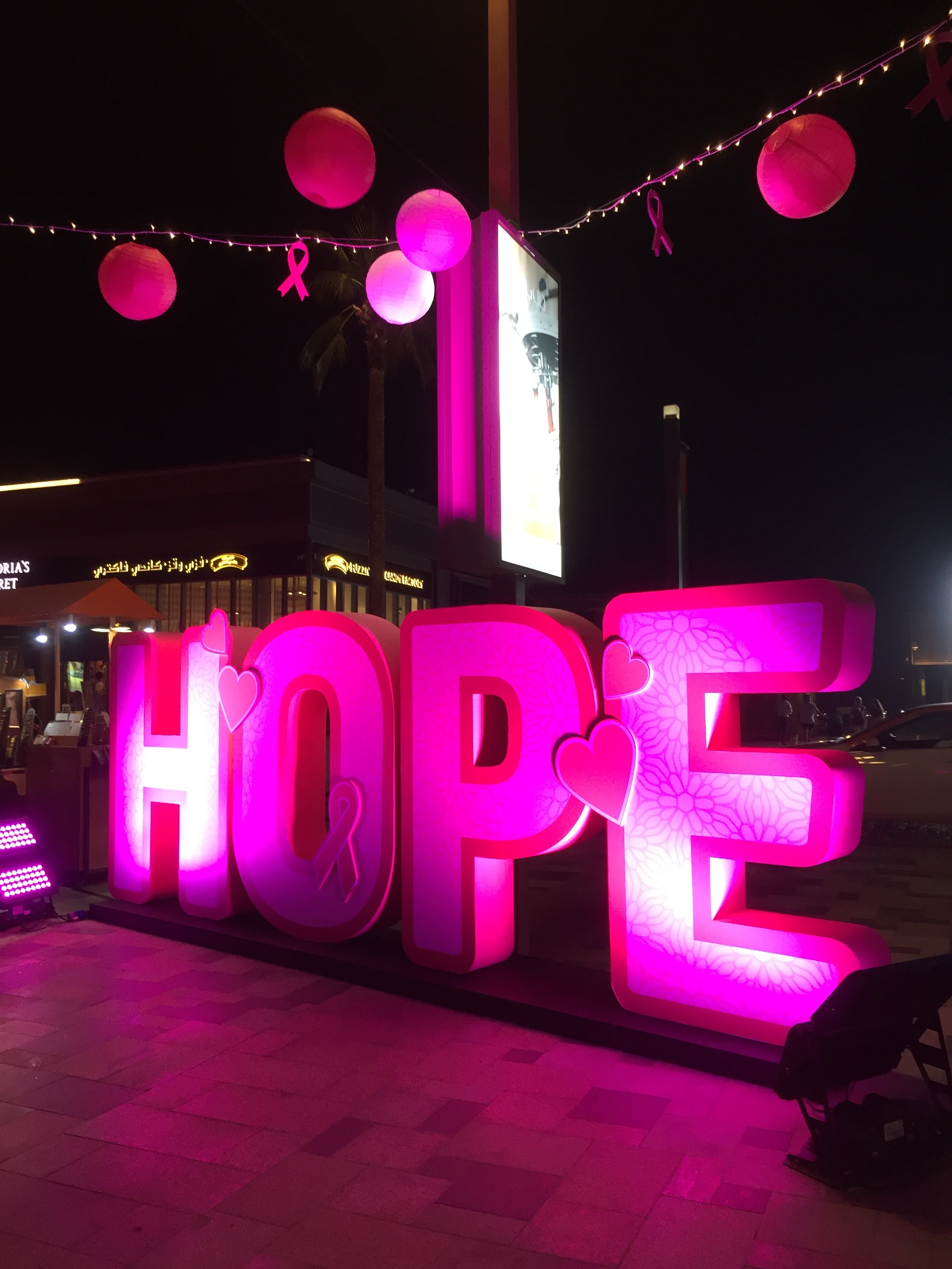 From the Pink Canvas' event on JBR