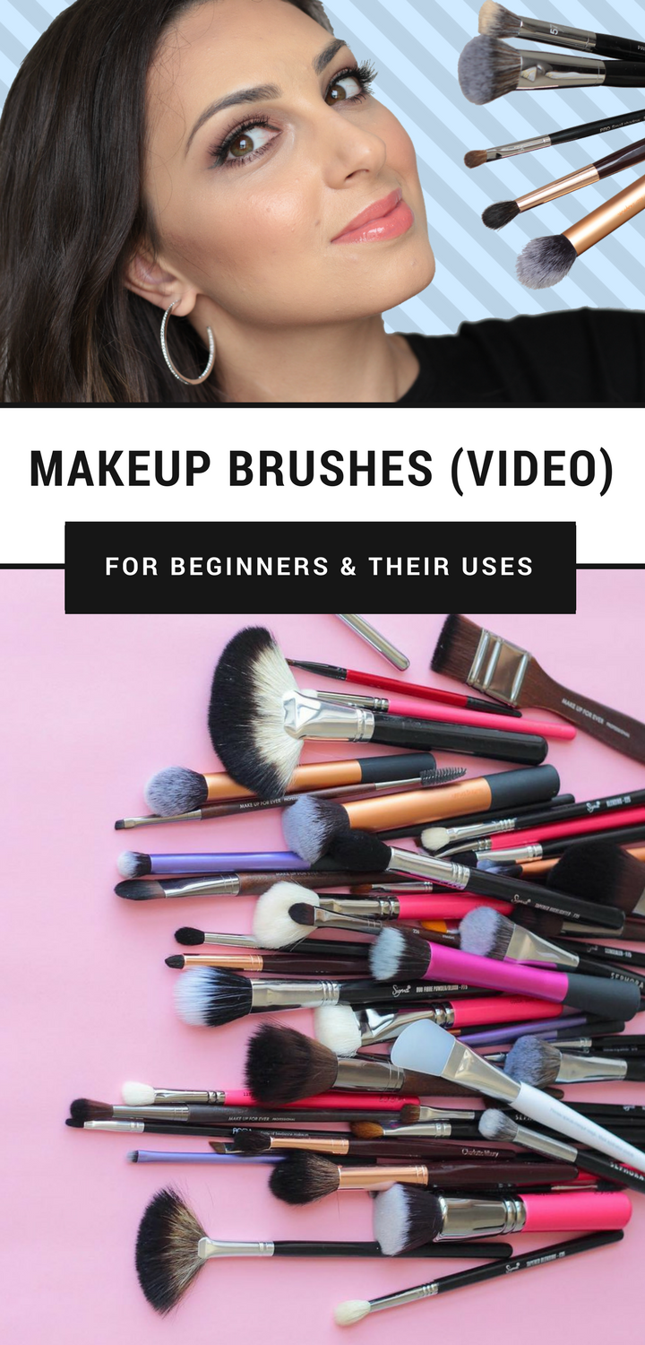 MAKEUP BRUSHES FOR BEGINNERS AND THEIR USES