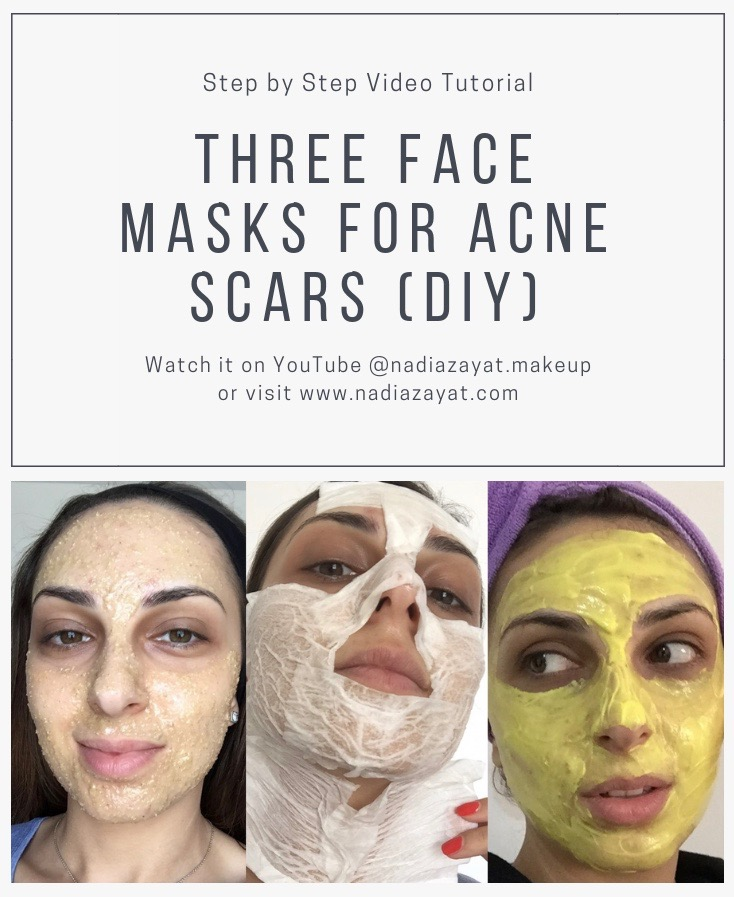FACE MASK FOR ACNE SCARS DIY
