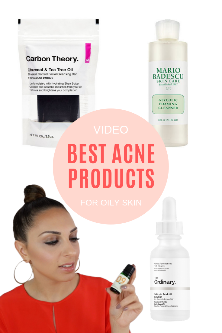 BEST ACNE PRODUCTS FOR OILY SKIN