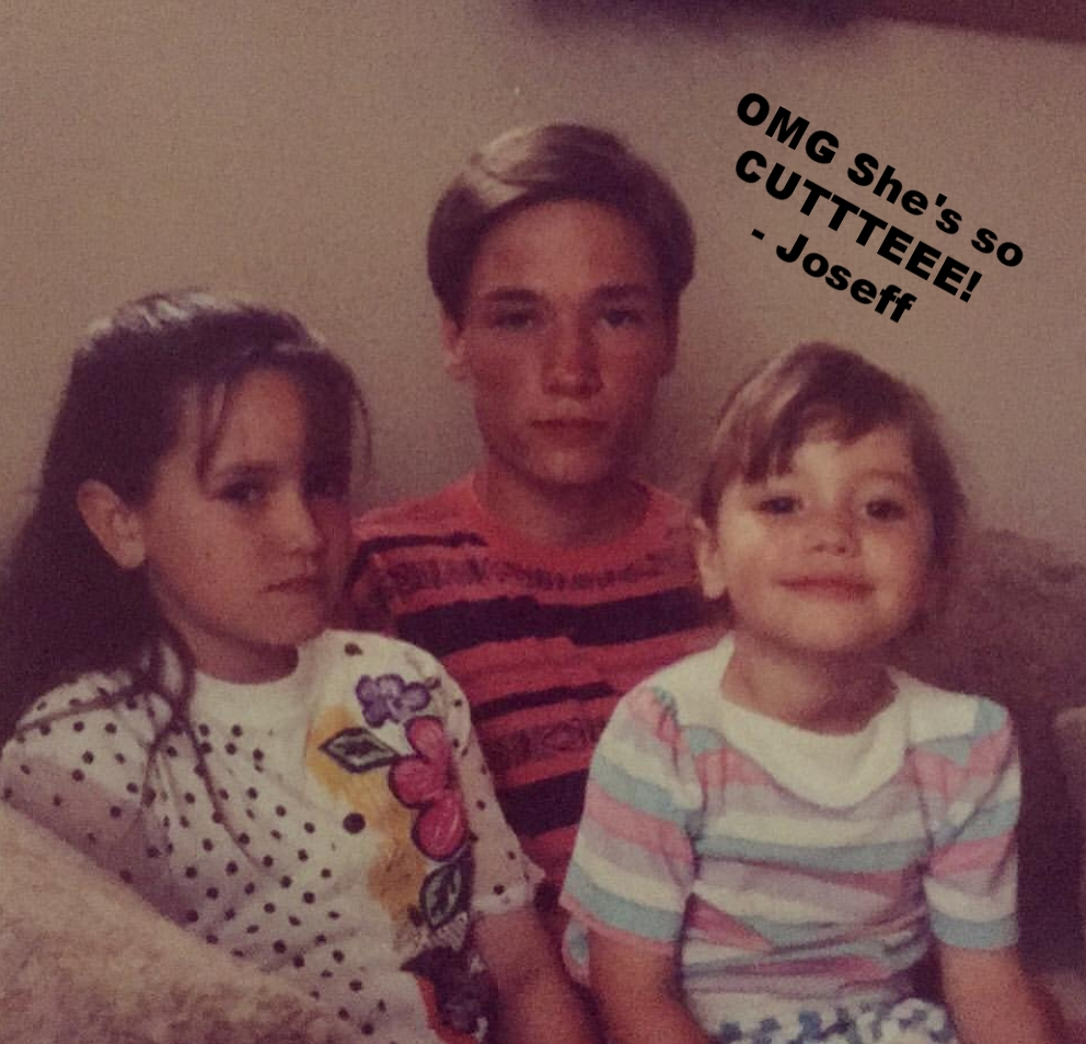 Kira, Michael (brother), and me... we all still feel the same way.