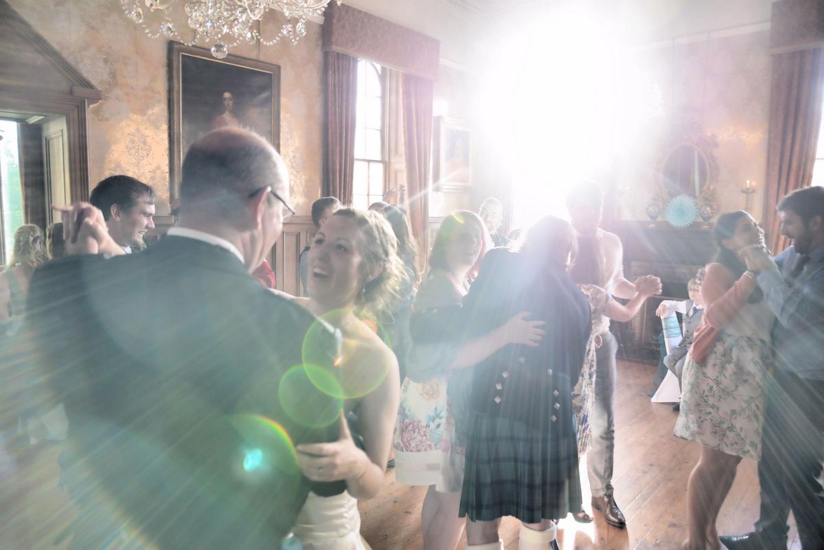 wedding dancing Lunga House