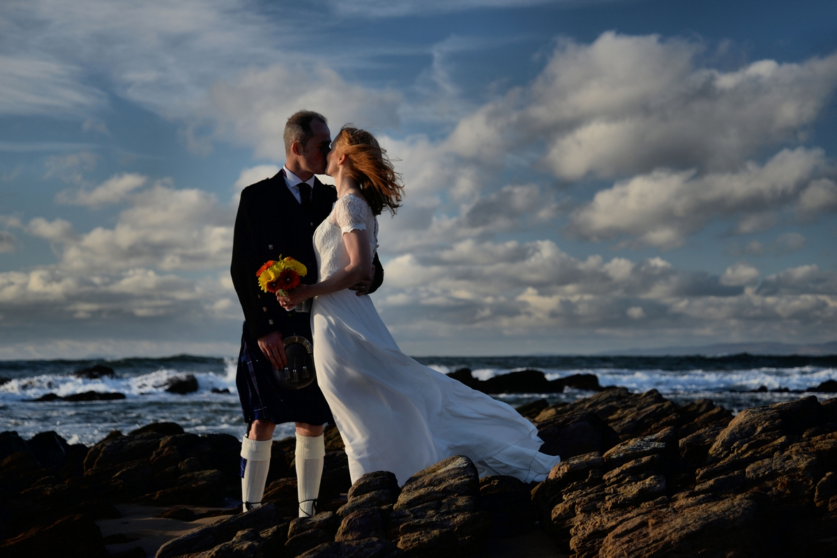 Beach wedding - Kintyre