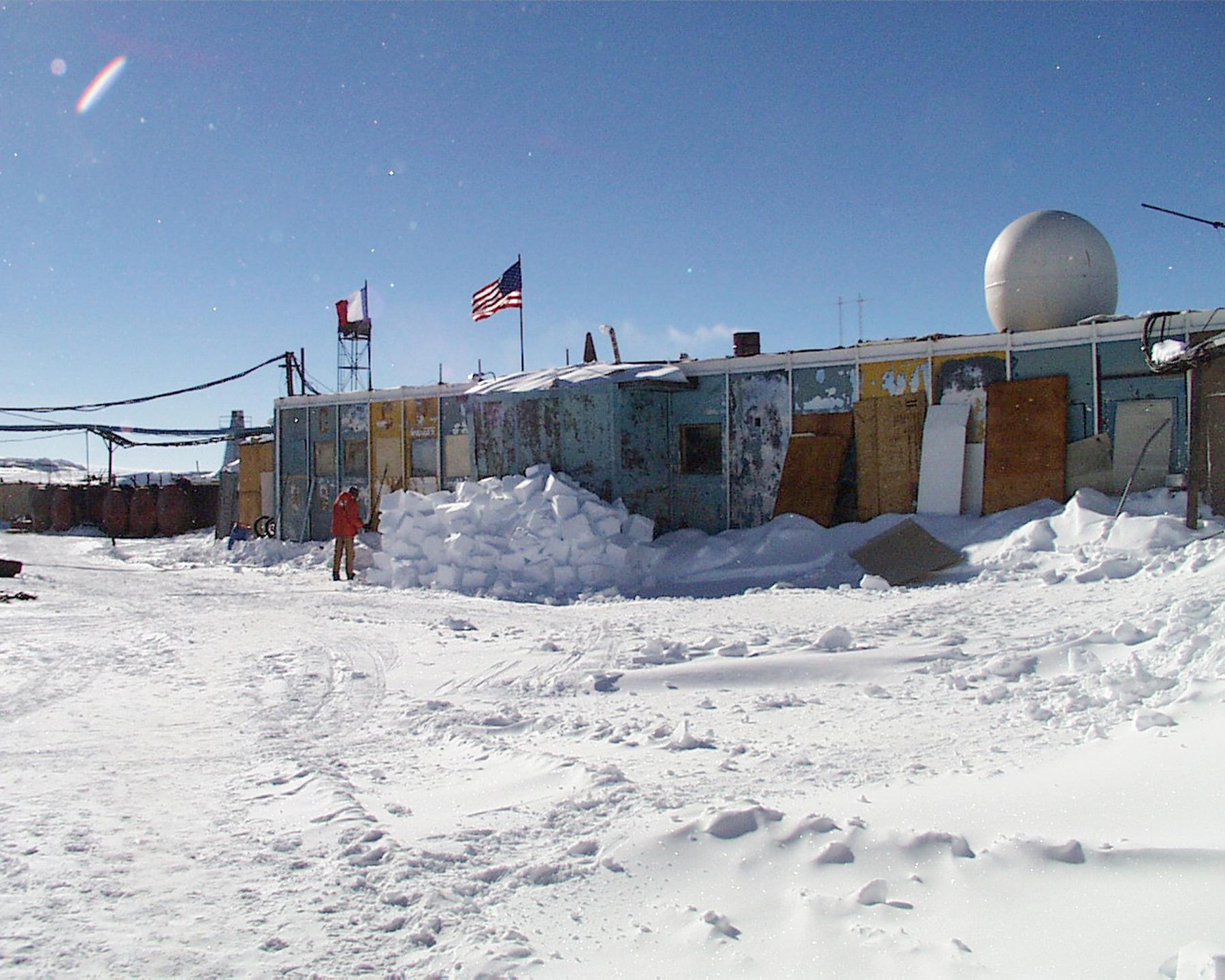 Vostok Station Shelter