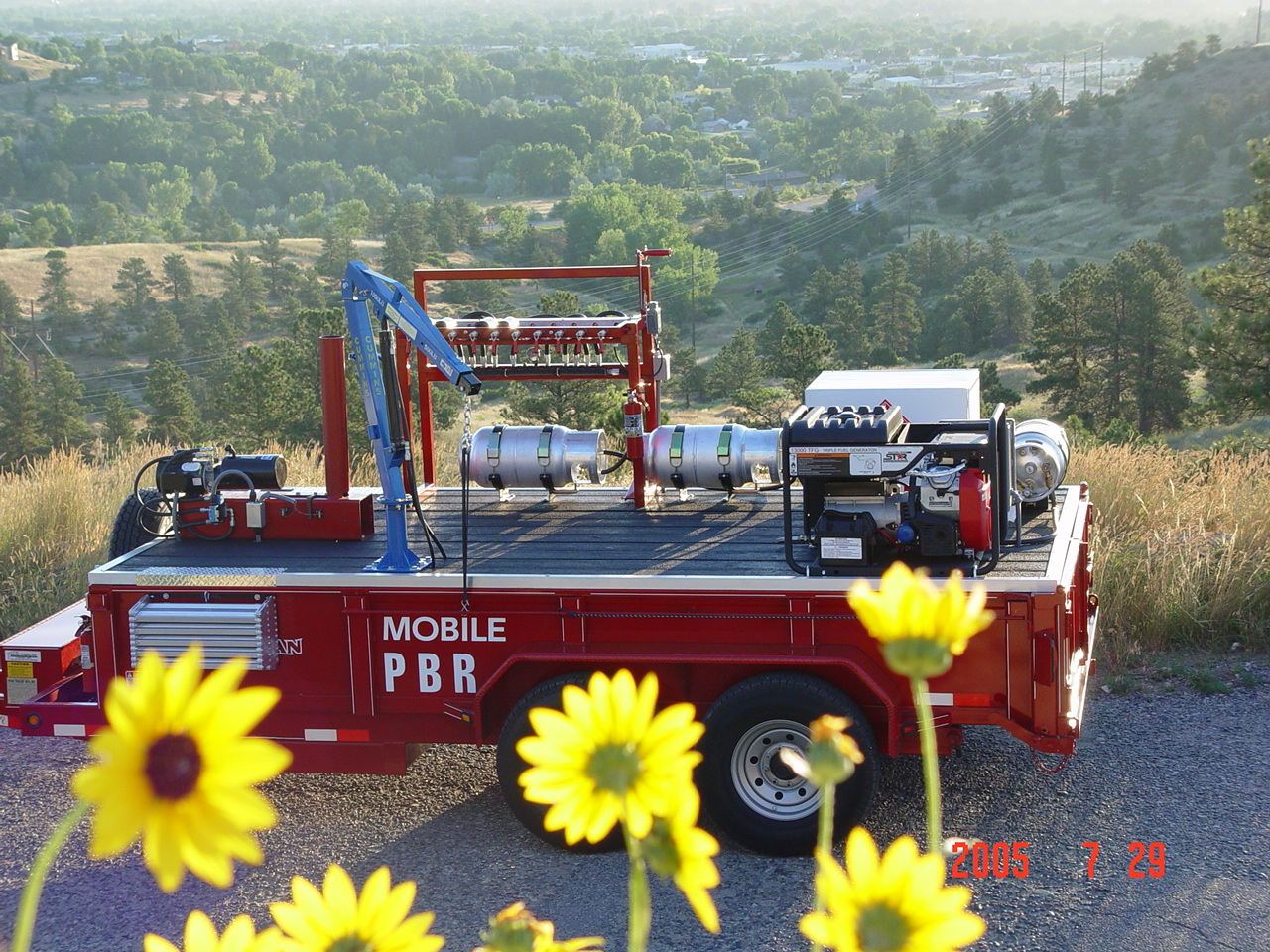 Yellowstone Propane Bottle Recycler