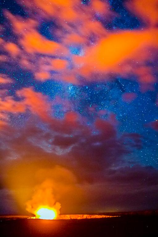 Valcano Over Milky Way, Hawaii_-2.jpg