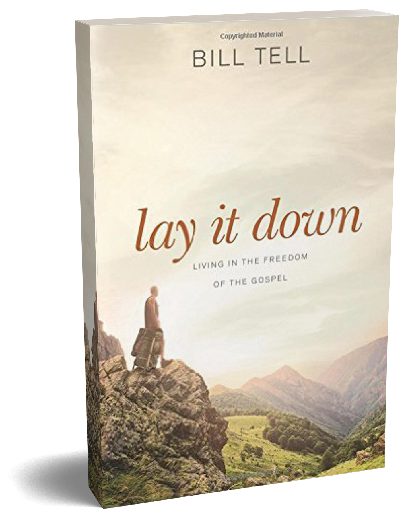 Lay it Down (Bill Tell)    Lay it Down  provides a fantastic walk through the biblical foundation of how grace changes everything. Bill Tell's excellent step-by-step thinking offers us a way back to the original good news as he evaluates specific verses. Once you have read  The Cure , we invite you to let Bill Tell help you  Lay it Down.