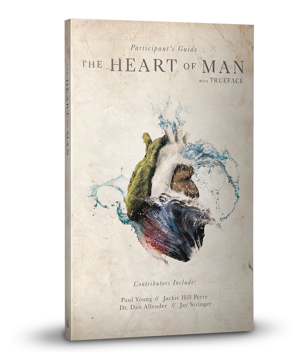 The Heart of Man Participant's Guide   This guide is designed for both groups and individuals; it is intended to initiate discussions on topics like brokenness, identity, and shame. Interwoven with excerpts and interviews from prominent thought-leaders,  The   Heart of Man   Participant's Guide  challenges you to deepen your understanding of what it means to be both human and a child of God.