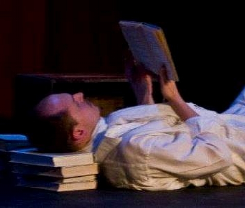 Dustin Witte in the 2011 production of the lonely book