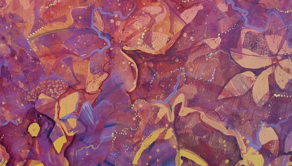 Vine - July 2016 - Acrylic on Panel