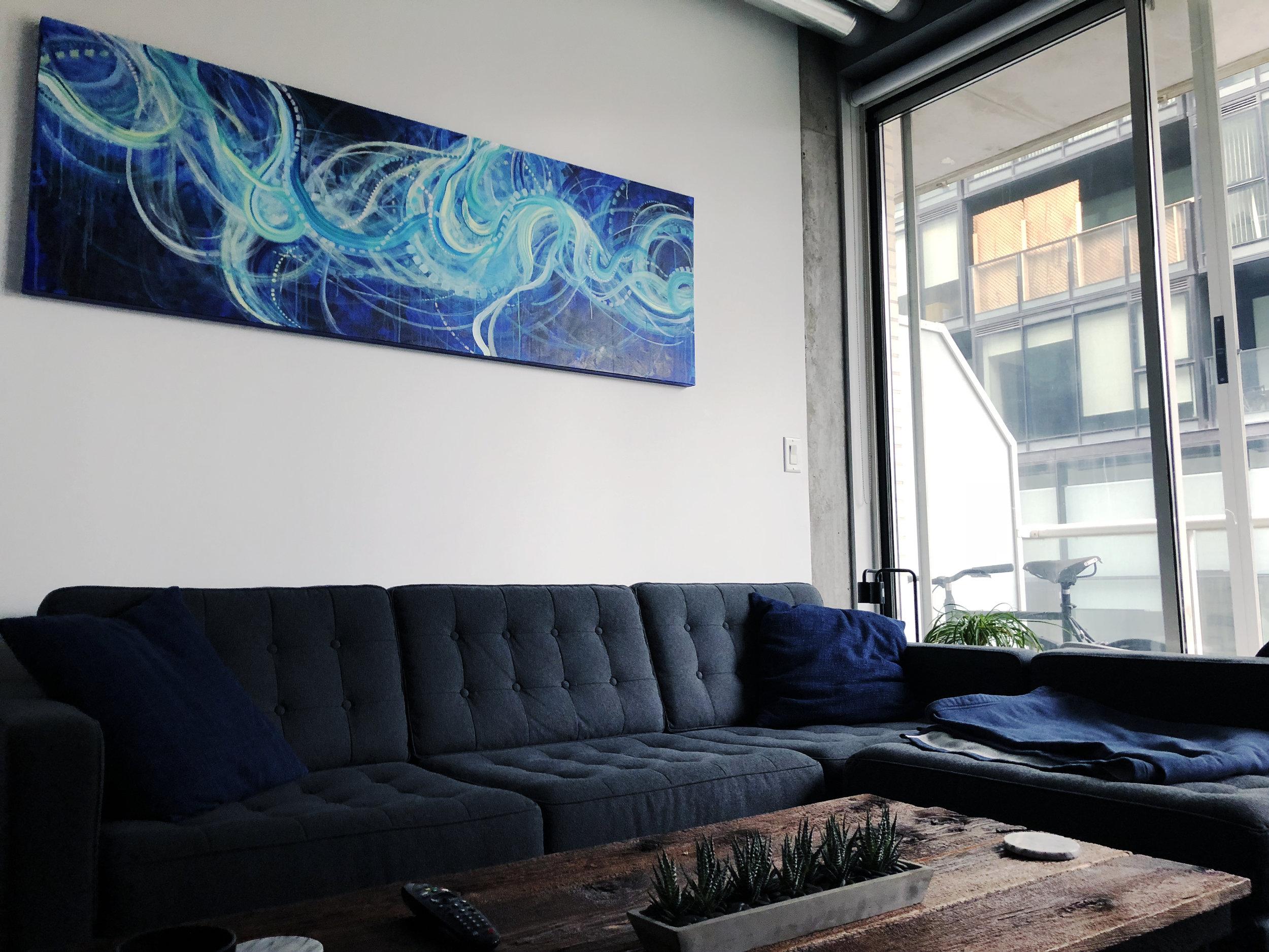 Swell  - Acrylic on Canvas