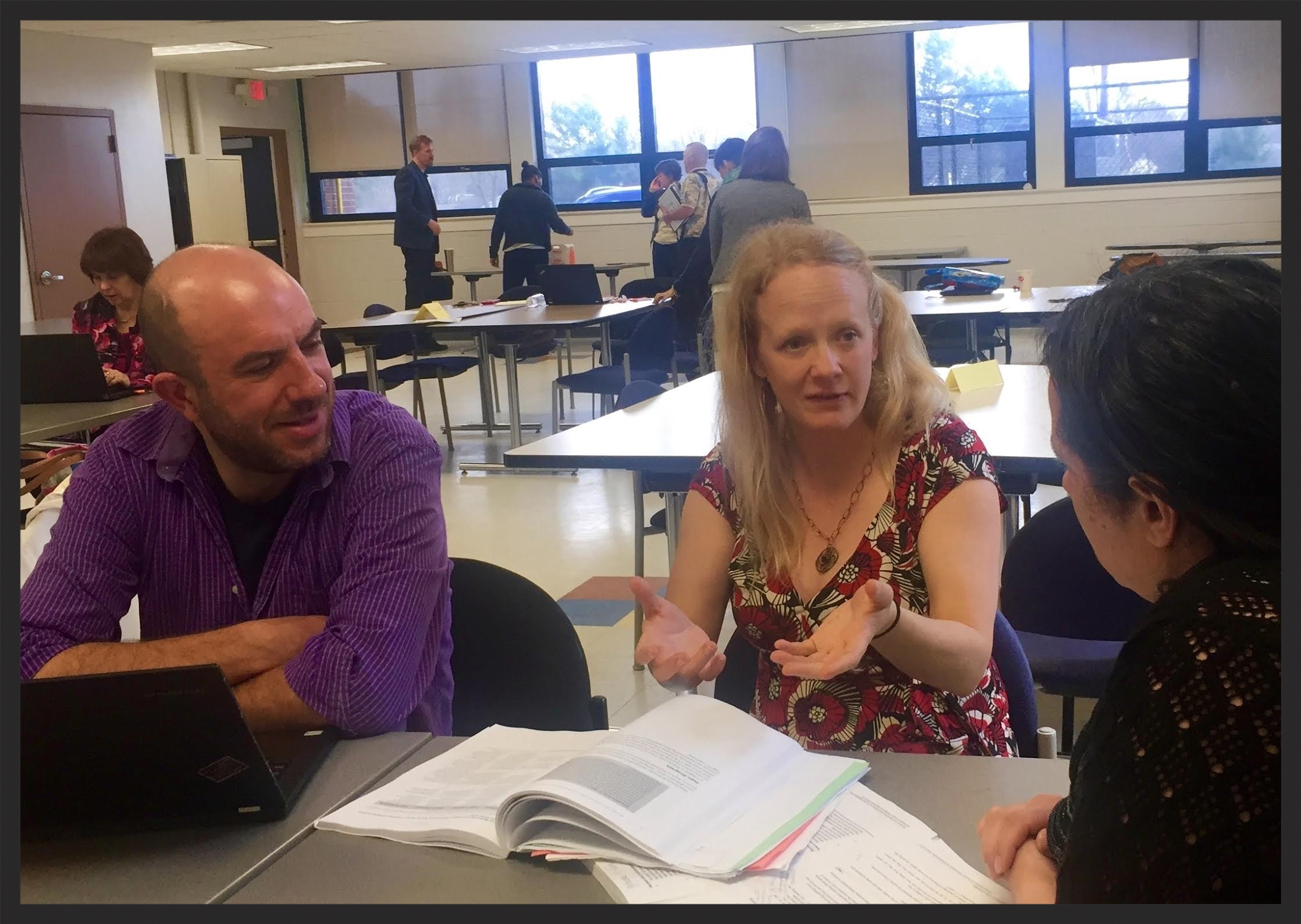 Working with instructional coaches in Springfield, MA.