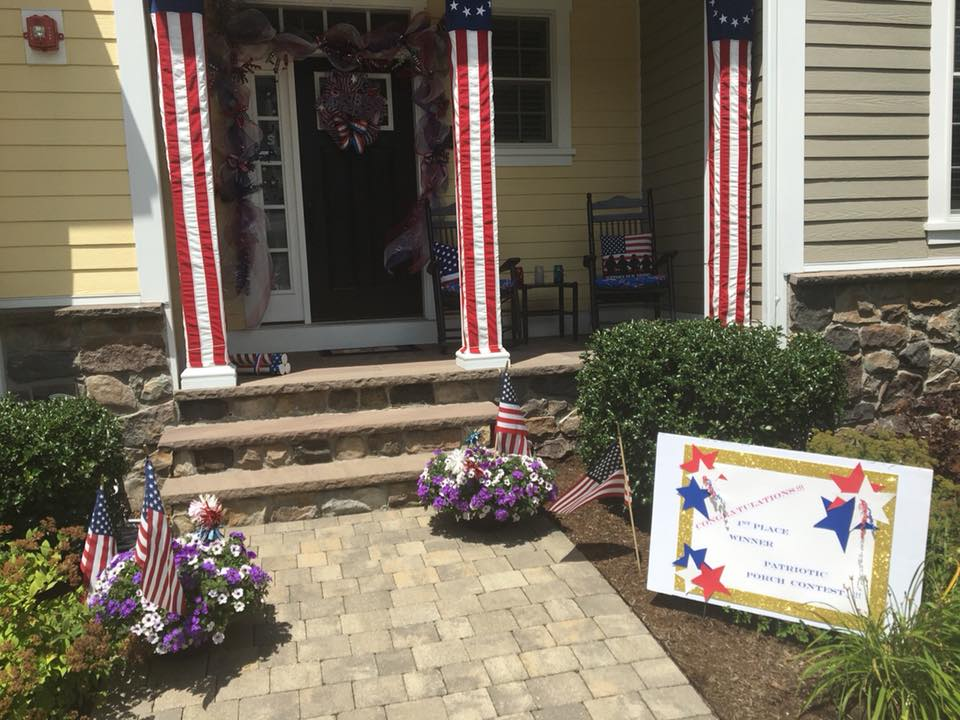 July 2018 - Patriotic Front Porch Contest - First Place Winner