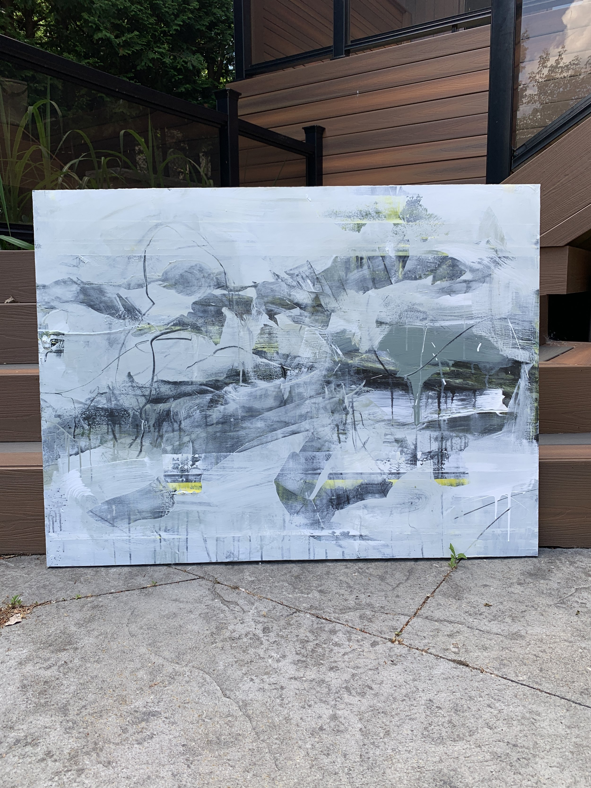 """Washed Out - 36"""" x 48"""""""