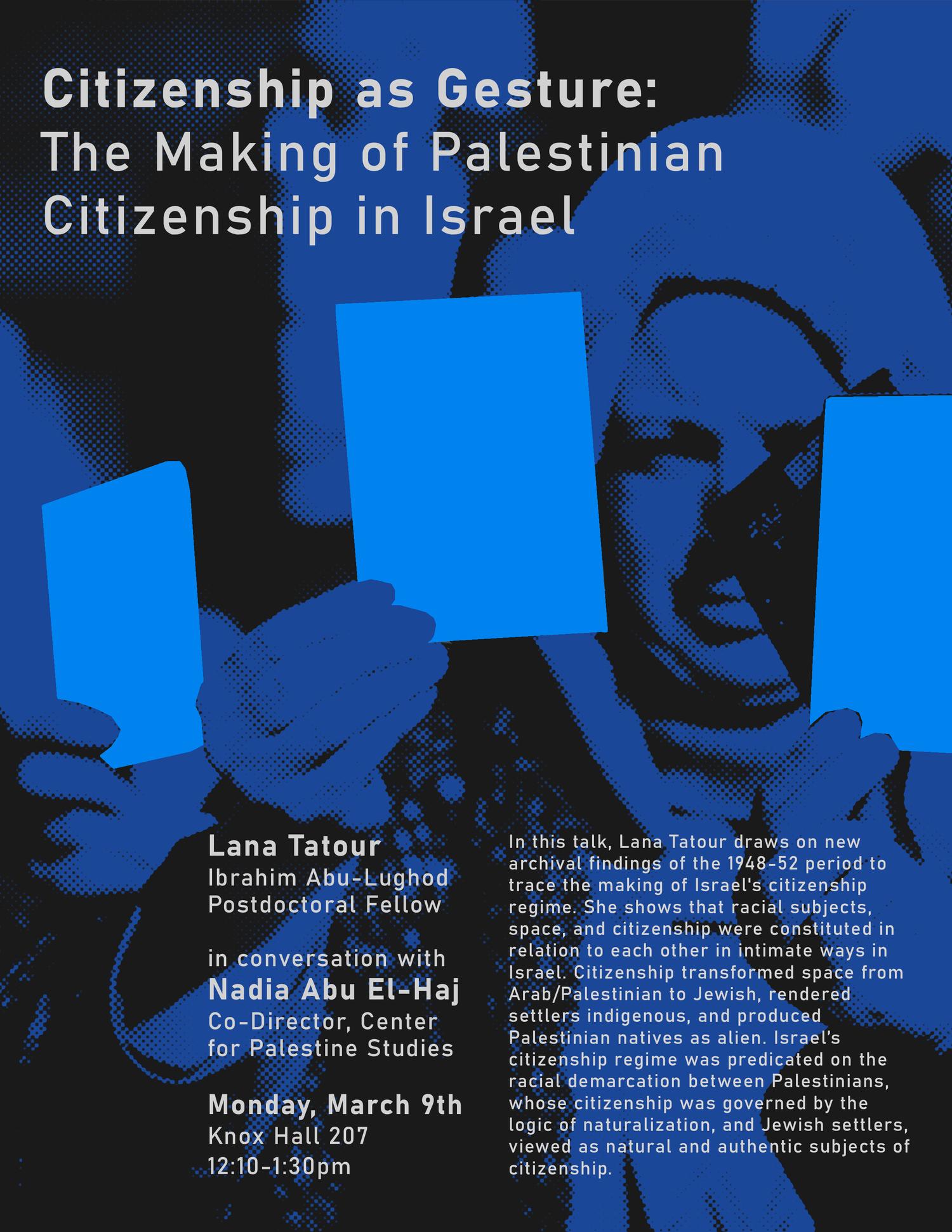 Citizenship as Gesture