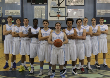 Left to right: Kyle Grund, Harry White, Nathan Heilpap, Chiagozie Ezeokeke, Griffin Over, Aidan O'Neill, Malik Braxton, Landon Hopkins, Caleb Tingstad, Charlie White, Reid Wilson
