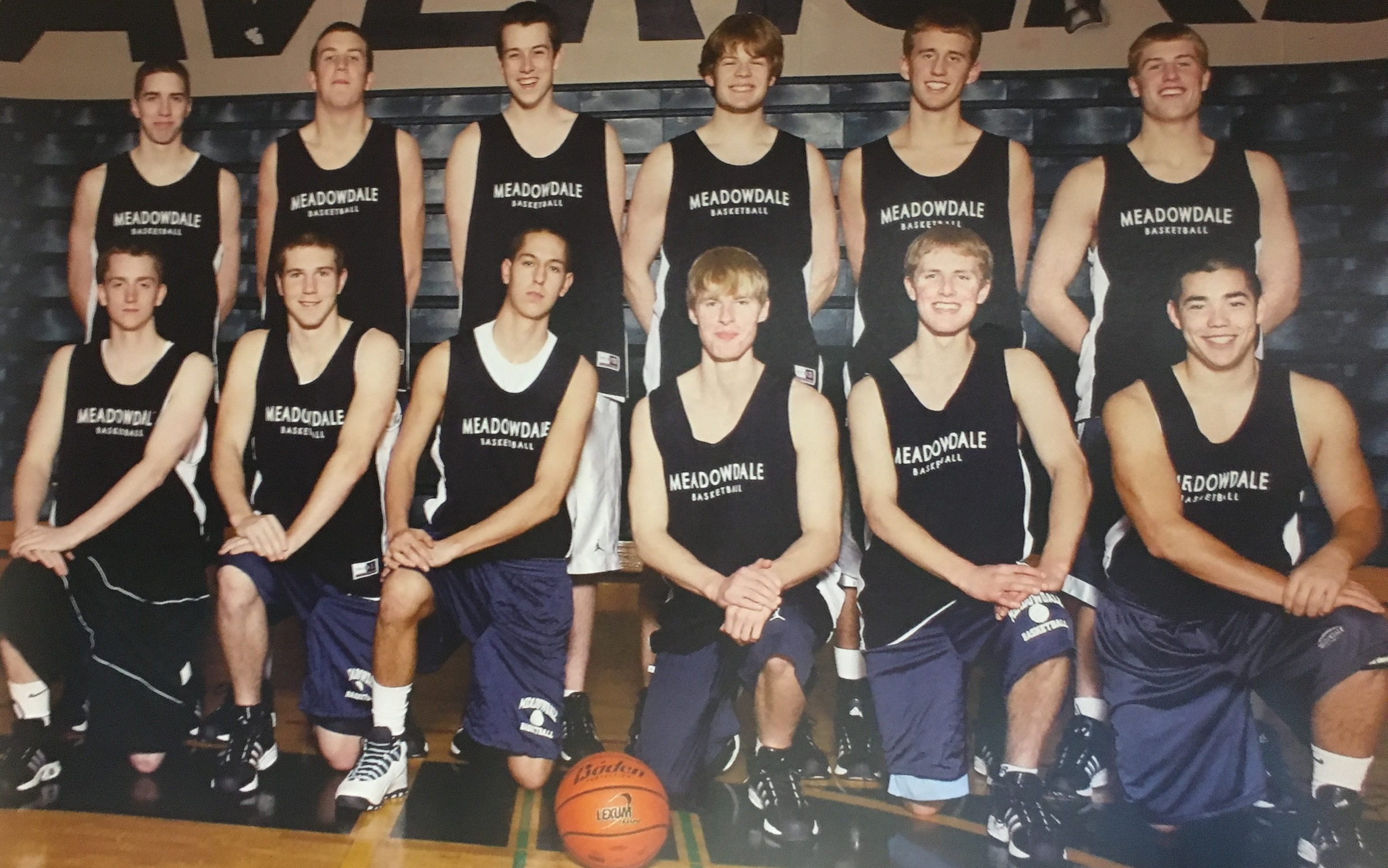 Back Row: Roger O'Neill. Connor Hamlett, Evan Matteson, Sam Epstein, Mike Beeson, Matt Gorman; Front Row: Ryan Church, Jacob Clampitt, Teagan Dooley, Paul Werner, Sam Werner, Connor Nelson